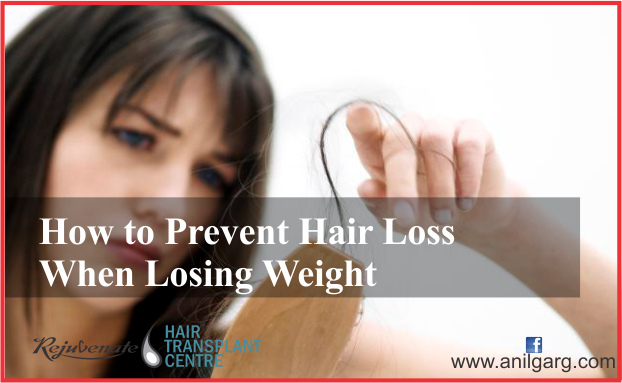 How to Prevent Hair Loss When Losing Weight