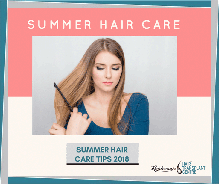 Hair Care in Summer Whether
