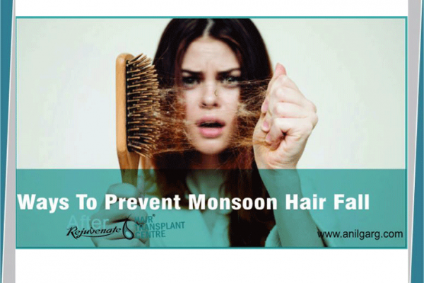 Ways To Prevent Hair Fall in Monsoon