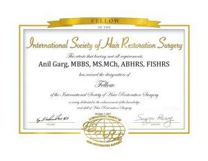 FISHRS Certificate 2017 - Rejuvenate