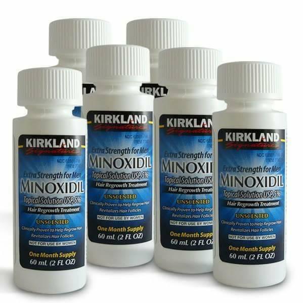 Minoxidil for Hair Growth