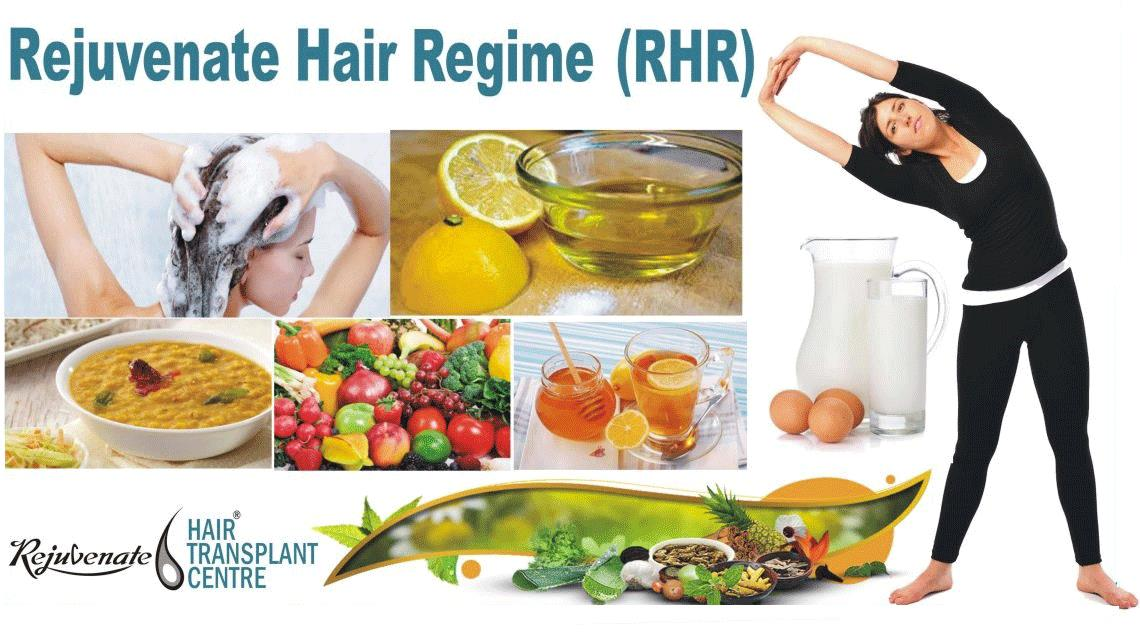 Rejuvenate Hair Regime