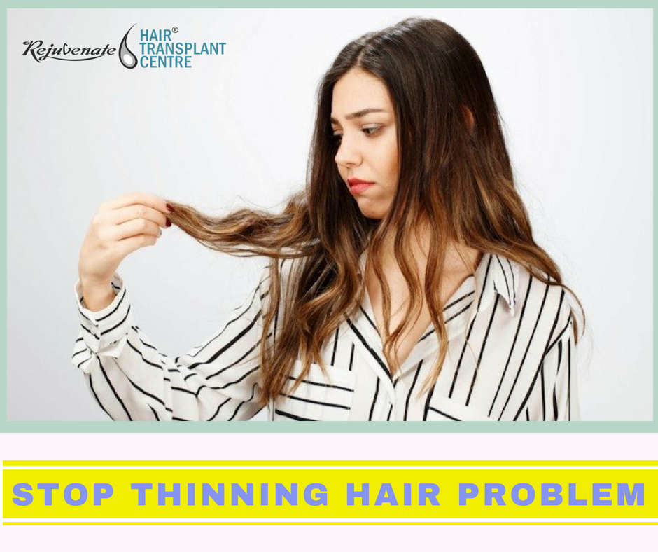 How To Stop Thinning Hair Problem In Both Men And Women
