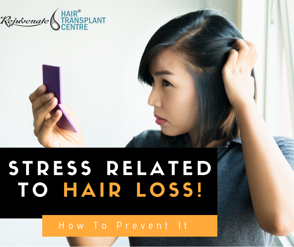 stress related to hair loss