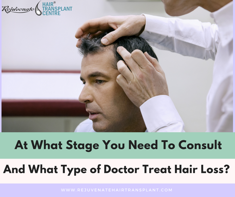 types of doctor treat hair loss