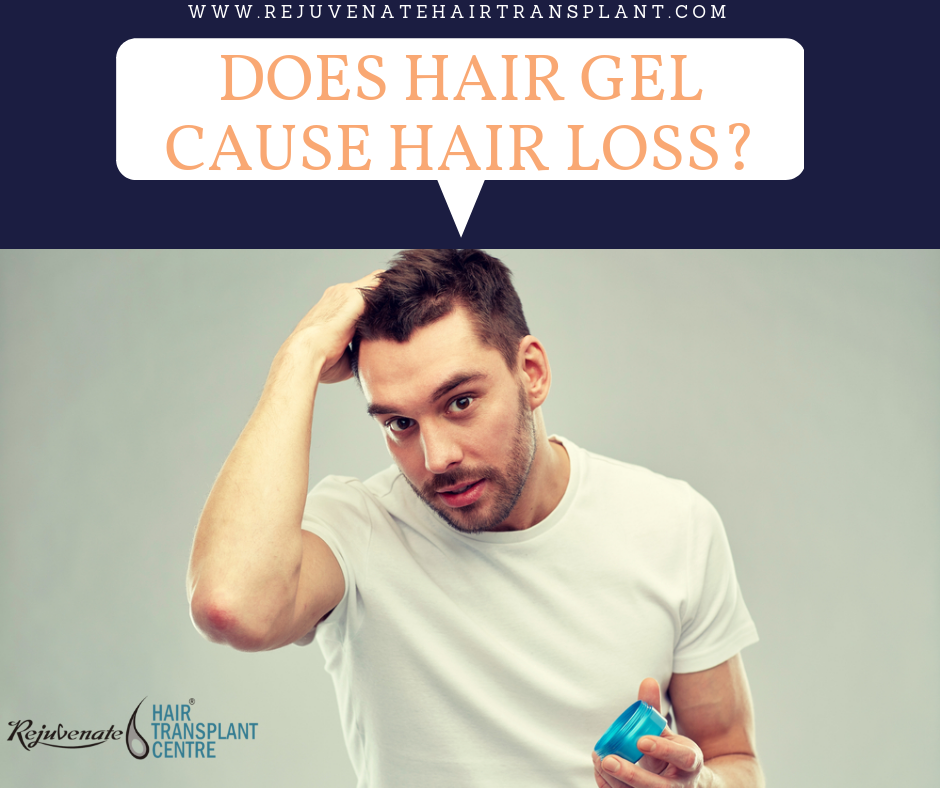 hair gel causes hair loss