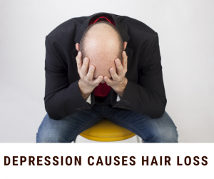Depression Causes Hair Loss