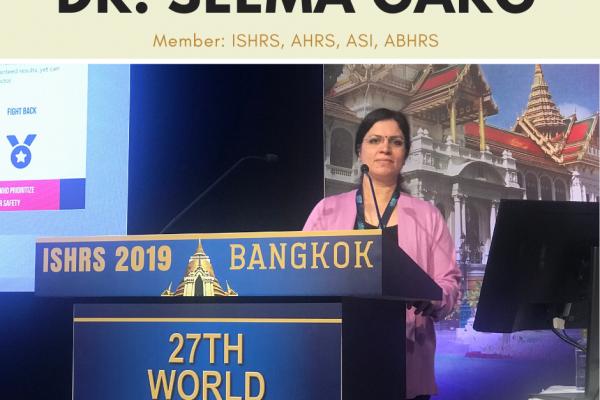Dr. Seema Garg, Diplomate of ISHRS