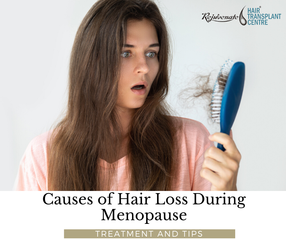 Causes of Hair Loss During Menopause