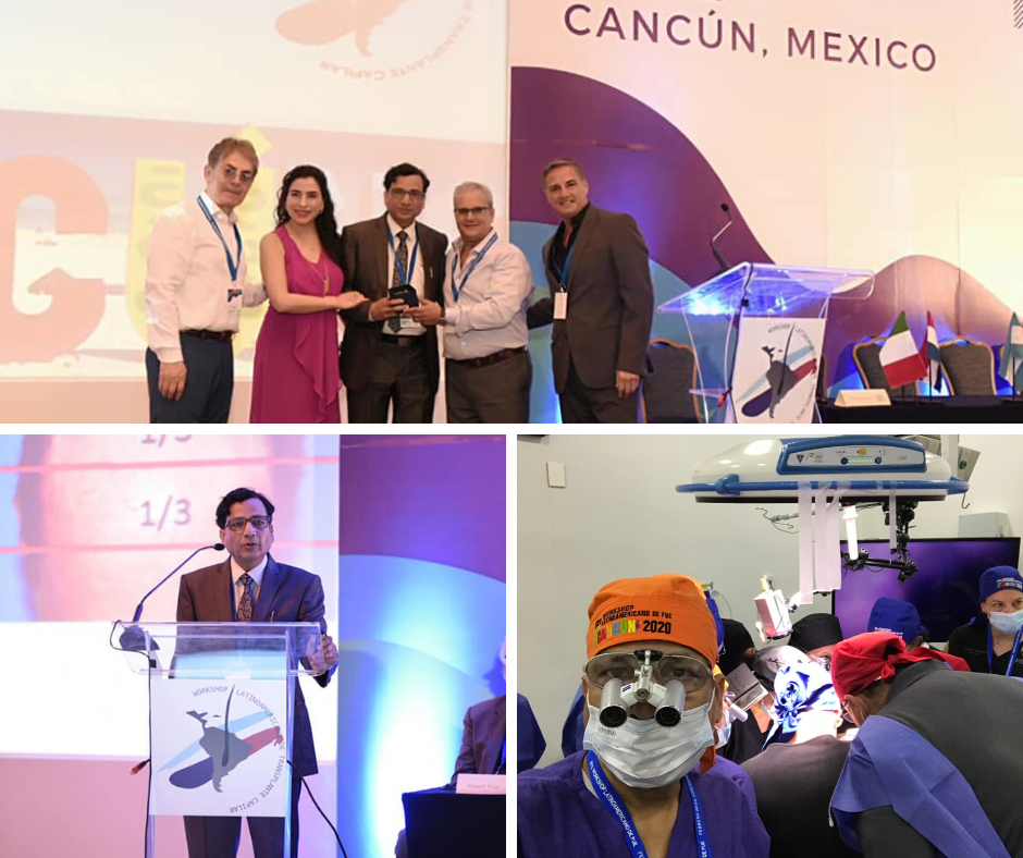Dr. Anil Kumar Garg from Indore, India 2020 FUE hair transplant workshop
