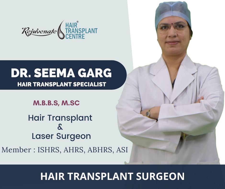 Dr. Seema Garg - Hair Transplant Specialist, Indore