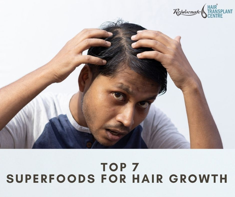 Top 7 Super Foods For Hair Growth