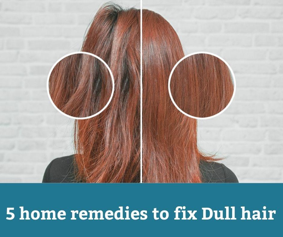 5 remedios caseros para el cabello opaco